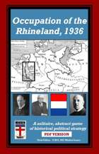 Occupation of the Rhineland, 1936, 3rd ed.