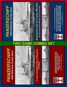 COMBO: Panzerschiff 3rd ed. & Expansion + Cruiser Module