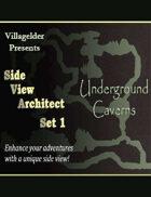 Side View Architect Set I - Underground Caverns