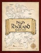 High Rhûland Region Map