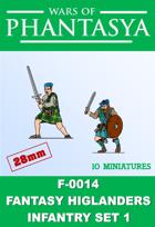 F-0014 - Fantasy Higlanders Infantry Set 1