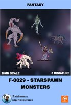 F-0029 - starspawn Monsters