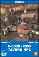 F-0036 - Rpg Tavern Npc