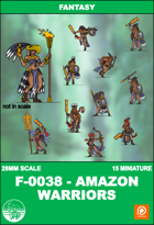 F-0038 - Amazon Warriors