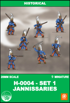 H-0004 - Jannissaries Set 1