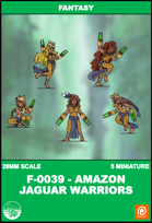 F-0039 - Amazons Jaguar Warriors