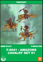 F-0041 - Amazons Cavalry Set 1