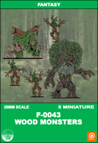 F-0043 - WOOD MONSTERS