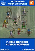 F-0045 - GENERIC HUMAN BOWMAN