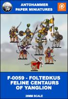 F-0059 - FOLTEDKUS FELINE CENTAURS OF YANGLION