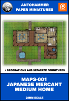 MAPS-001- JAPANESE MERCANT MEDIUM HOME