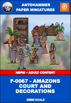 F-0067 - AMAZONS COURT AND DECORATIONS