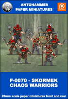 F-0070 - SKORMEK CHAOS WARRIORS