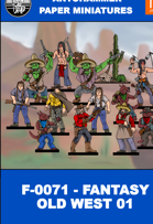 F-0071 - FANTASY OLD WEST 01