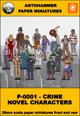 P-0001- CRIME NOVEL CHARACTERS