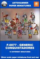 F-0077 - GENERIC CONQUISTADORES