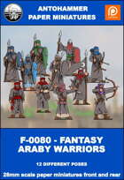 F-0080 - FANTASY ARABY WARRIORS