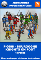 F-0088 - BOURGOGNE KNIGHTS ON FOOT