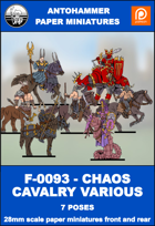 F-0093 - CHAOS CAVALRY VARIOUS
