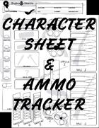 Snakes & Saloons Character Sheet v2 + Ammo Tracker (5e)