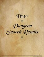d240 Dungeon Search Results