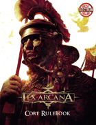 Lex Arcana RPG - Corebook Core Rulebook 2nd Edition