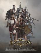 Lex Arcana RPG - Complete Set Paper minis