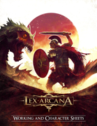 Lex Arcana RPG - Working and Character Sheet