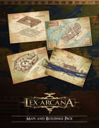 Lex Arcana RPG - Maps & Buildings Pack