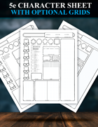 5e Character Sheet Redesigned