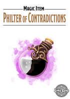 Magic Item - Philter of Contradictions