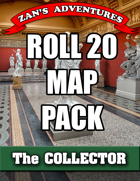 VTT (Roll 20) Map Pack for The Collector