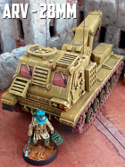 Armored Recovery Vehicle: 3D Printable for 28mm Wargames