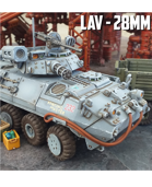 Light Armored Vehicle: 3D Printable for 28mm Wargames