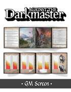 Against the Darkmaster GM Screen