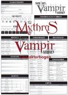 Mythras Nach den Vampirkriegen Charakterbogen