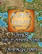 Campaign Map. Venus The Evening Star.