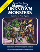 Manual of Unknown Monsters