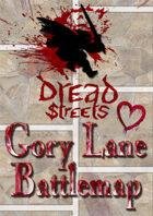 Dread Streets: Gory Lane Battlemap