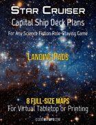Capital Ship Deck Plans: Landing Pads