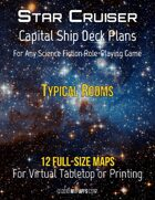 Capital Ship Deck Plans: Typical Rooms