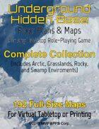 Underground Hidden Base: Complete Collection