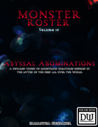 Monster Roster IV: Abyssal Abominations