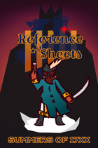 Reference Sheets-- Summers of 17XX