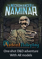 The Necromancer of Naminar | 5e D&D Adventure using AR models