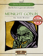 Midnight Goblin Solo Gamebook - Hero Kids Compatible