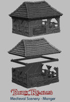Medieval Scenery - Rural Manger