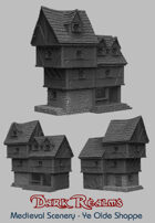 Medieval Scenery - Ye Olde Shoppe