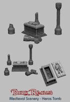 Medieval Scenery - Hero's Tomb