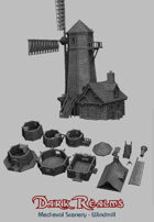 Medieval Scenery - Windmill